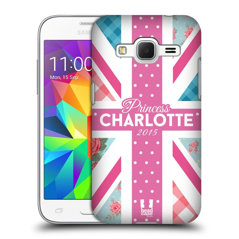Plastové pouzdro na mobil Samsung Galaxy Core Prime LTE HEAD CASE PRINCEZNIČKA CHARLOTTE (Kryt či obal na mobilní telefon Samsung Galaxy Core Prime LTE SM-G360)