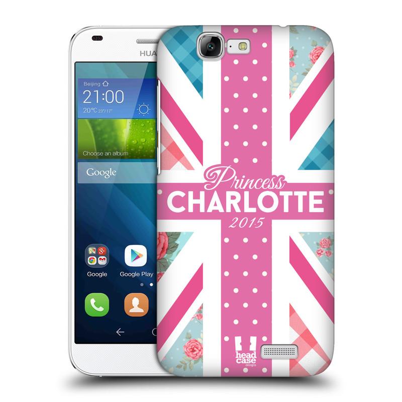 Plastové pouzdro na mobil Huawei Ascend G7 HEAD CASE PRINCEZNIČKA CHARLOTTE (Kryt či obal na mobilní telefon Huawei Ascend G7)