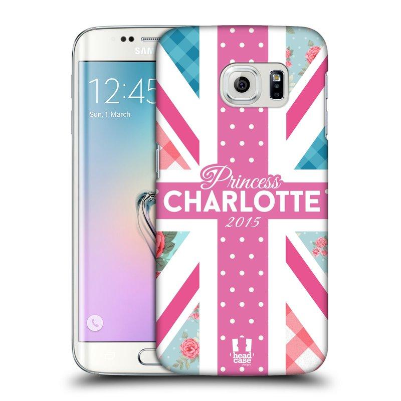Plastové pouzdro na mobil Samsung Galaxy S6 Edge HEAD CASE PRINCEZNIČKA CHARLOTTE (Kryt či obal na mobilní telefon Samsung Galaxy S6 Edge SM-G925F)
