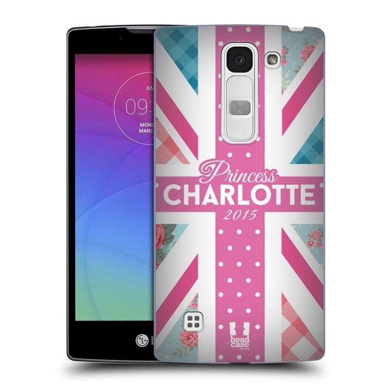 Plastové pouzdro na mobil LG Spirit LTE HEAD CASE PRINCEZNIČKA CHARLOTTE (Kryt či obal na mobilní telefon LG Spirit H420 a LG Spirit LTE H440N)