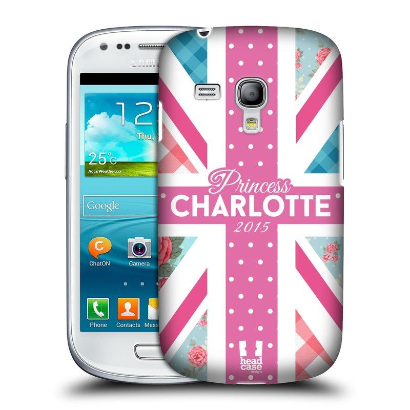 Plastové pouzdro na mobil Samsung Galaxy S III Mini HEAD CASE PRINCEZNIČKA CHARLOTTE (Kryt či obal na mobilní telefon Samsung Galaxy S III Mini GT-i8190)