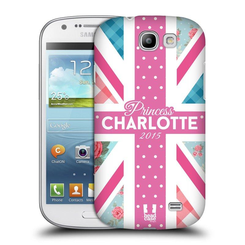 Plastové pouzdro na mobil Samsung Galaxy Express HEAD CASE PRINCEZNIČKA CHARLOTTE (Kryt či obal na mobilní telefon Samsung Galaxy Express GT-i8730)