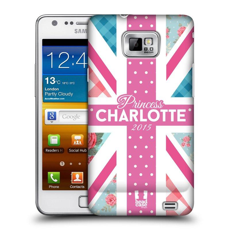 Plastové pouzdro na mobil Samsung Galaxy S II HEAD CASE PRINCEZNIČKA CHARLOTTE (Kryt či obal na mobilní telefon Samsung Galaxy S II GT-i9100)