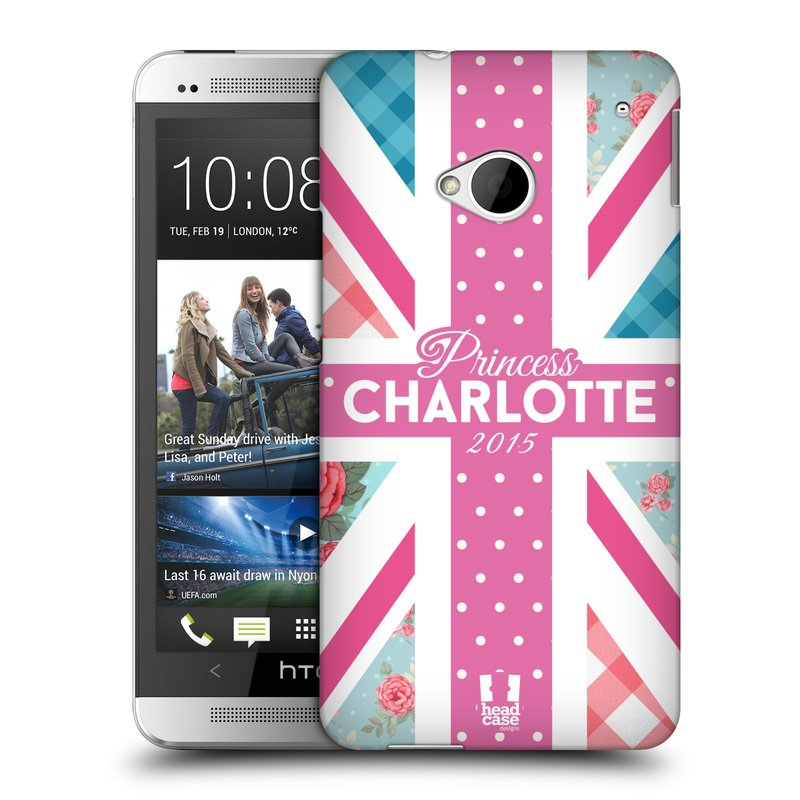 Plastové pouzdro na mobil HTC ONE M7 HEAD CASE PRINCEZNIČKA CHARLOTTE (Kryt či obal na mobilní telefon HTC ONE M7)