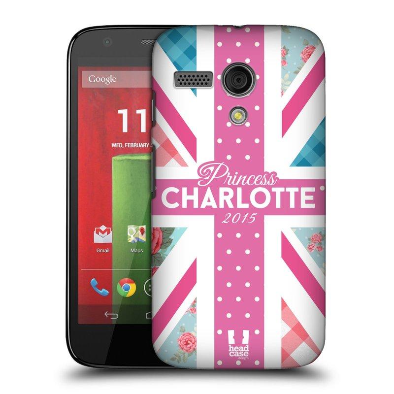 Plastové pouzdro na mobil Motorola Moto G HEAD CASE PRINCEZNIČKA CHARLOTTE (Kryt či obal na mobilní telefon Motorola Moto G)