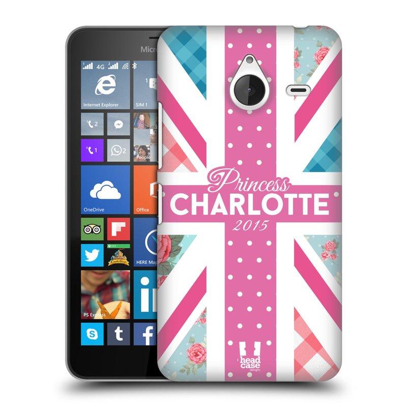 Plastové pouzdro na mobil Microsoft Lumia 640 XL HEAD CASE PRINCEZNIČKA CHARLOTTE (Kryt či obal na mobilní telefon Microsoft Lumia 640 XL)