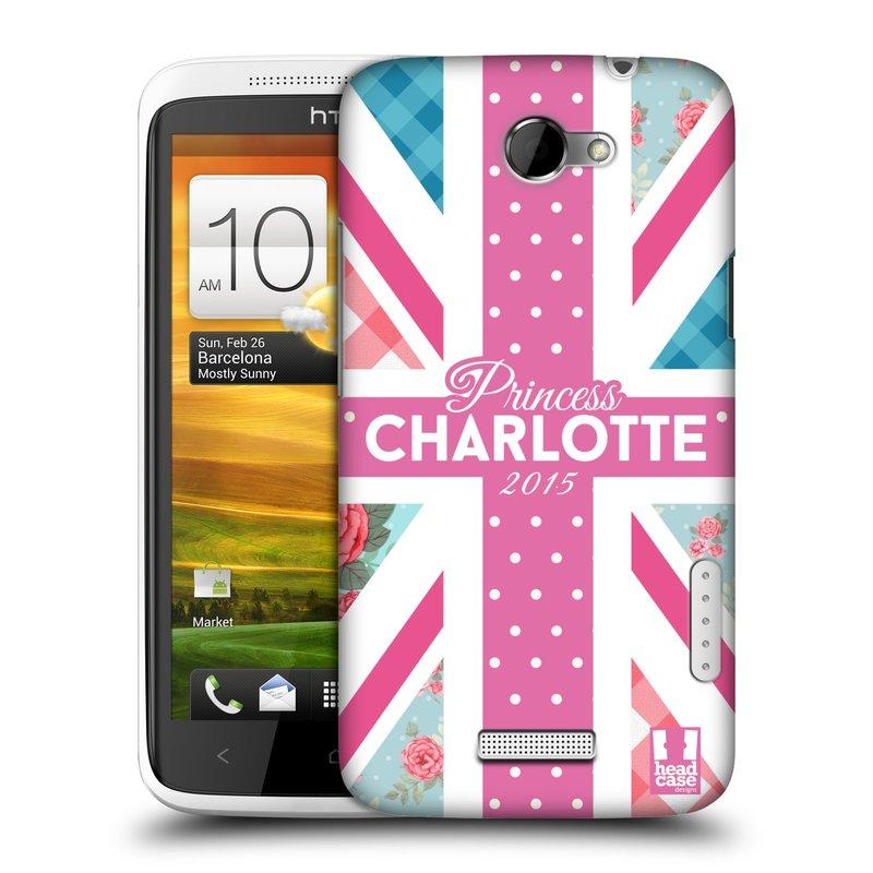 Plastové pouzdro na mobil HTC ONE X HEAD CASE PRINCEZNIČKA CHARLOTTE (Kryt či obal na mobilní telefon HTC ONE X)