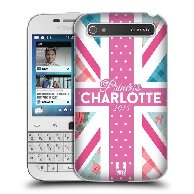 Plastové pouzdro na mobil Blackberry Classic HEAD CASE PRINCEZNIČKA CHARLOTTE (Kryt či obal na mobilní telefon Blackberry Classic)