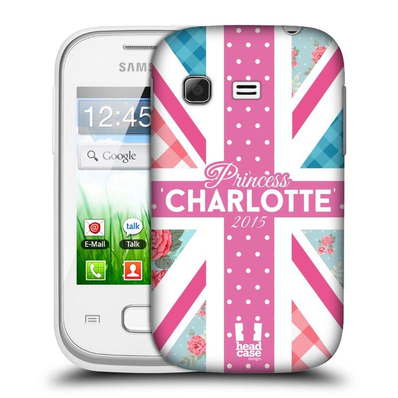 Plastové pouzdro na mobil Samsung Galaxy Pocket HEAD CASE PRINCEZNIČKA CHARLOTTE (Kryt či obal na mobilní telefon Samsung Galaxy Pocket GT-S5300)