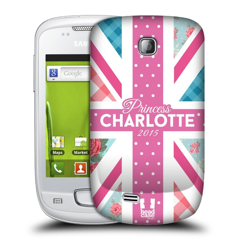 Plastové pouzdro na mobil Samsung Galaxy Mini HEAD CASE PRINCEZNIČKA CHARLOTTE (Kryt či obal na mobilní telefon Samsung Galaxy Mini GT-S5570 / GT-S5570i)