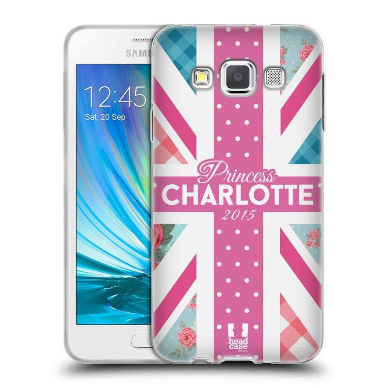 Silikonové pouzdro na mobil Samsung Galaxy A3 HEAD CASE PRINCEZNIČKA CHARLOTTE (Silikonový kryt či obal na mobilní telefon Samsung Galaxy A3 SM-A300)