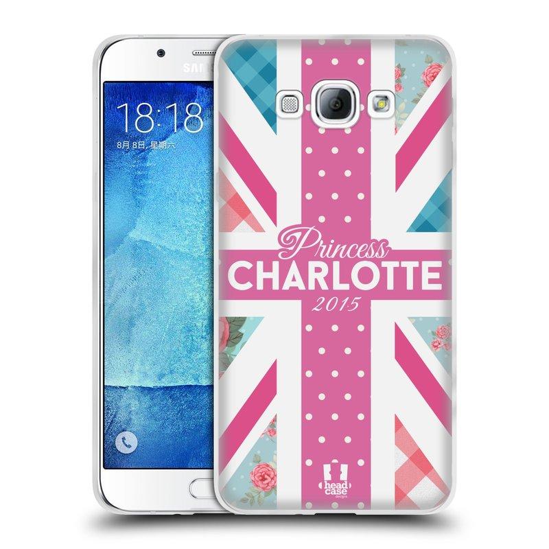 Silikonové pouzdro na mobil Samsung Galaxy A8 HEAD CASE PRINCEZNIČKA CHARLOTTE (Silikonový kryt či obal na mobilní telefon Samsung Galaxy A8 SM-A800)