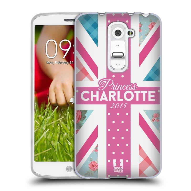 Silikonové pouzdro na mobil LG G2 Mini HEAD CASE PRINCEZNIČKA CHARLOTTE (Silikonový kryt či obal na mobilní telefon LG G2 Mini D620)