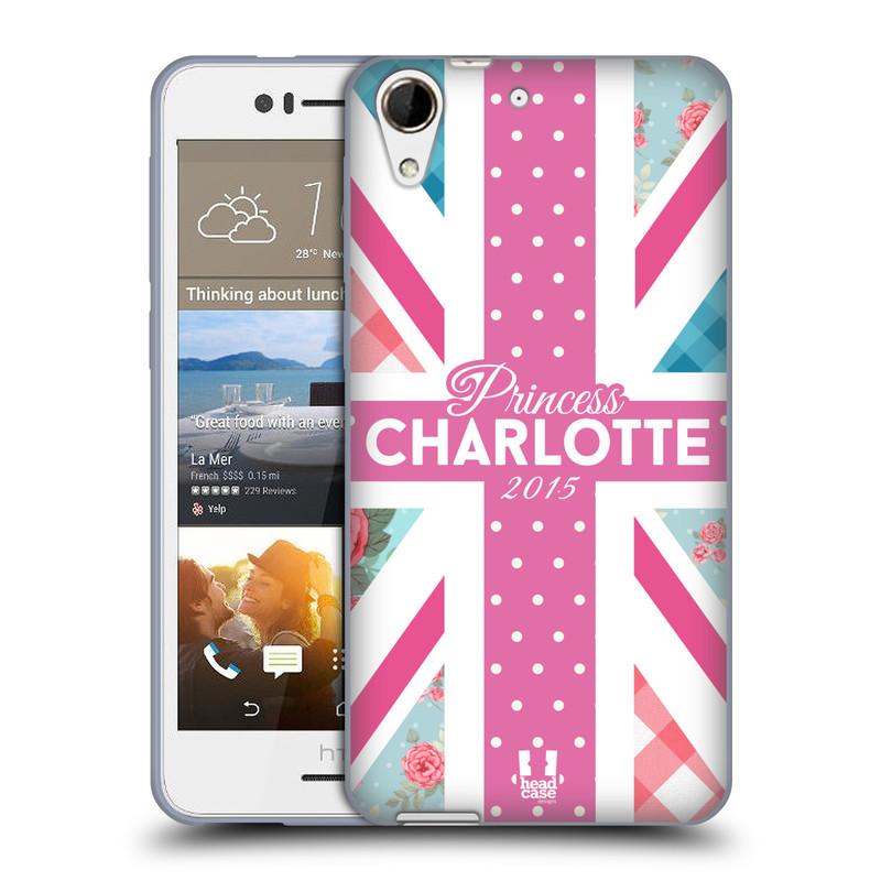 Silikonové pouzdro na mobil HTC Desire 728G Dual SIM HEAD CASE PRINCEZNIČKA CHARLOTTE (Silikonový kryt či obal na mobilní telefon HTC Desire 728 G Dual SIM)