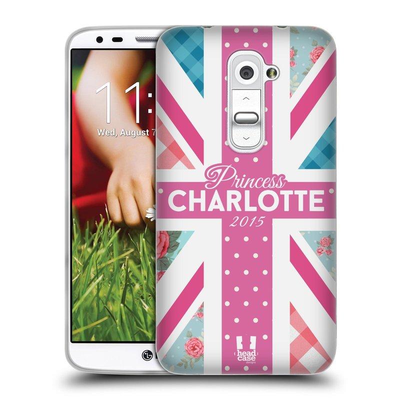 Silikonové pouzdro na mobil LG G2 HEAD CASE PRINCEZNIČKA CHARLOTTE (Silikonový kryt či obal na mobilní telefon LG G2 D802)