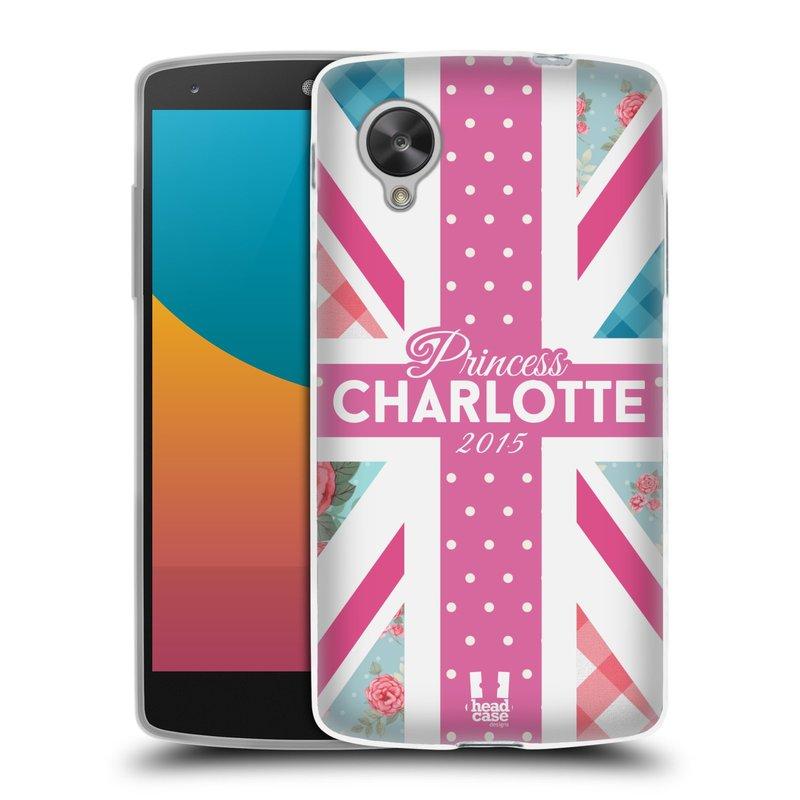 Silikonové pouzdro na mobil LG Nexus 5 HEAD CASE PRINCEZNIČKA CHARLOTTE (Silikonový kryt či obal na mobilní telefon LG Google Nexus 5 D821)