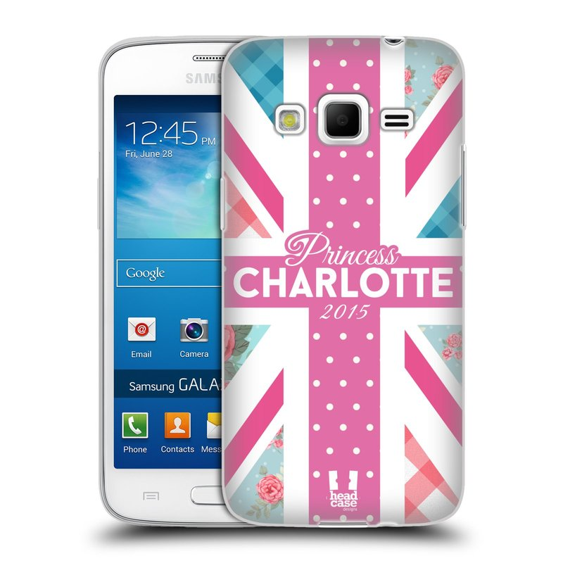 Silikonové pouzdro na mobil Samsung Galaxy Express 2 HEAD CASE PRINCEZNIČKA CHARLOTTE (Silikonový kryt či obal na mobilní telefon Samsung Galaxy Express 2 SM-G3815)
