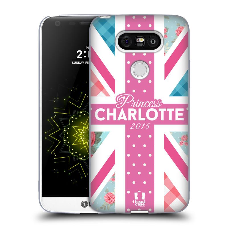 Silikonové pouzdro na mobil LG G5 HEAD CASE PRINCEZNIČKA CHARLOTTE (Silikonový kryt či obal na mobilní telefon LG G5 H850)
