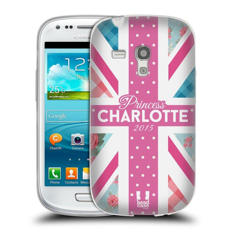 Silikonové pouzdro na mobil Samsung Galaxy S III Mini HEAD CASE PRINCEZNIČKA CHARLOTTE (Silikonový kryt či obal na mobilní telefon Samsung Galaxy S III Mini GT-i8190)