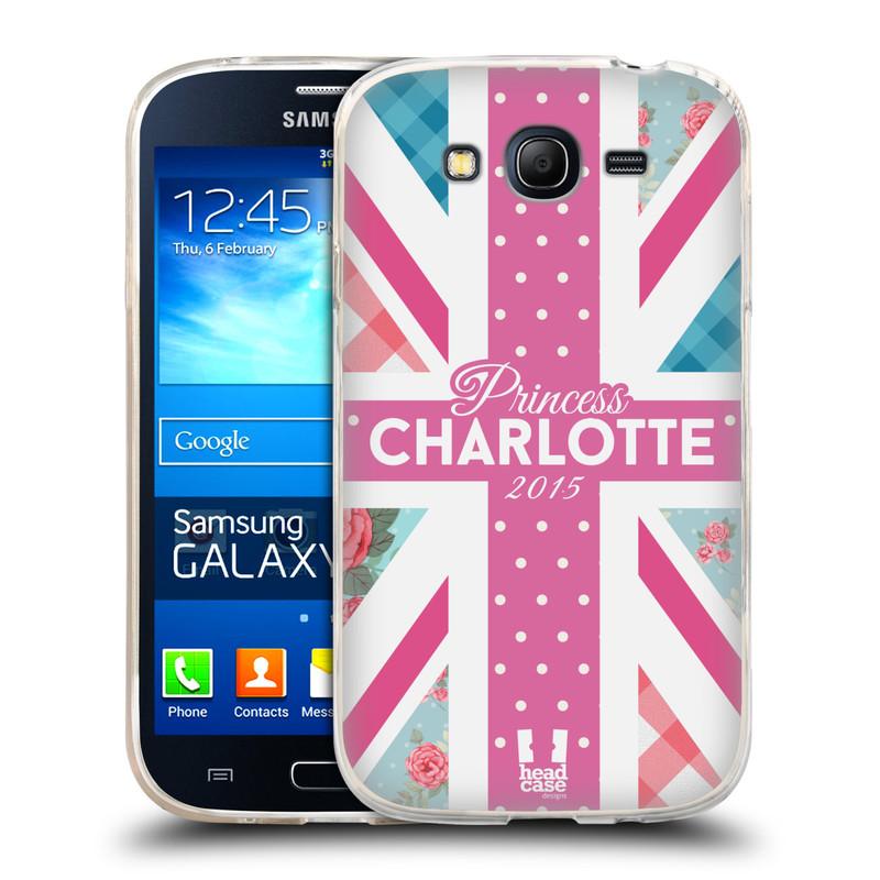 Silikonové pouzdro na mobil Samsung Galaxy Grand Neo Plus HEAD CASE PRINCEZNIČKA CHARLOTTE (Silikonový kryt či obal na mobilní telefon Samsung Galaxy Grand Neo Plus Duos GT-I9060i)