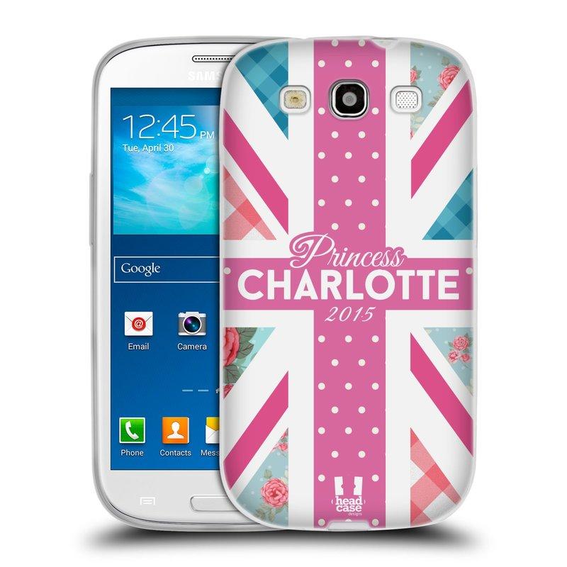 Silikonové pouzdro na mobil Samsung Galaxy S III HEAD CASE PRINCEZNIČKA CHARLOTTE (Silikonový kryt či obal na mobilní telefon Samsung Galaxy S III GT-i9300)
