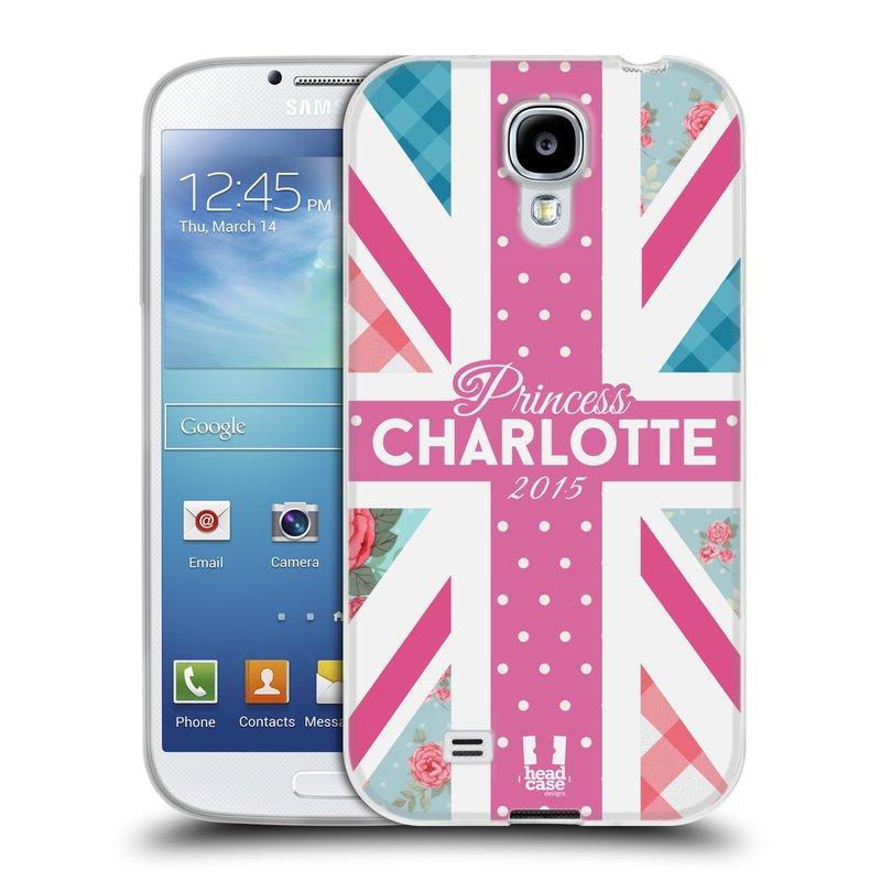 Silikonové pouzdro na mobil Samsung Galaxy S4 HEAD CASE PRINCEZNIČKA CHARLOTTE (Silikonový kryt či obal na mobilní telefon Samsung Galaxy S4 GT-i9505 / i9500)