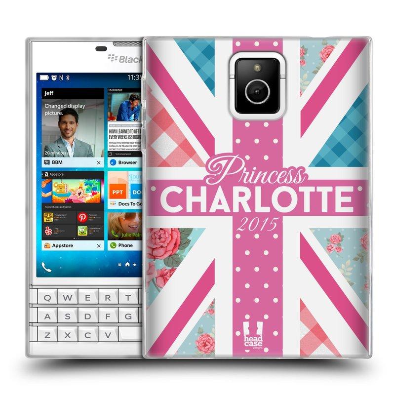 Silikonové pouzdro na mobil Blackberry PASSPORT HEAD CASE PRINCEZNIČKA CHARLOTTE (Silikonový kryt či obal na mobilní telefon Blackberry PASSPORT)