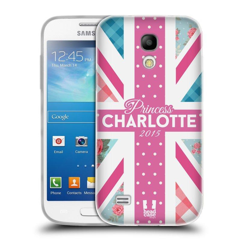 Silikonové pouzdro na mobil Samsung Galaxy S4 Mini HEAD CASE PRINCEZNIČKA CHARLOTTE (Silikonový kryt či obal na mobilní telefon Samsung Galaxy S4 Mini GT-i9195 / i9190 (nepasuje na verzi Black Edition))