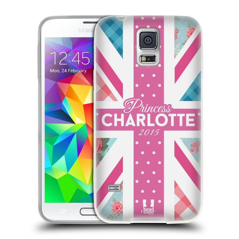 Silikonové pouzdro na mobil Samsung Galaxy S5 HEAD CASE PRINCEZNIČKA CHARLOTTE (Silikonový kryt či obal na mobilní telefon Samsung Galaxy S5 SM-G900F)