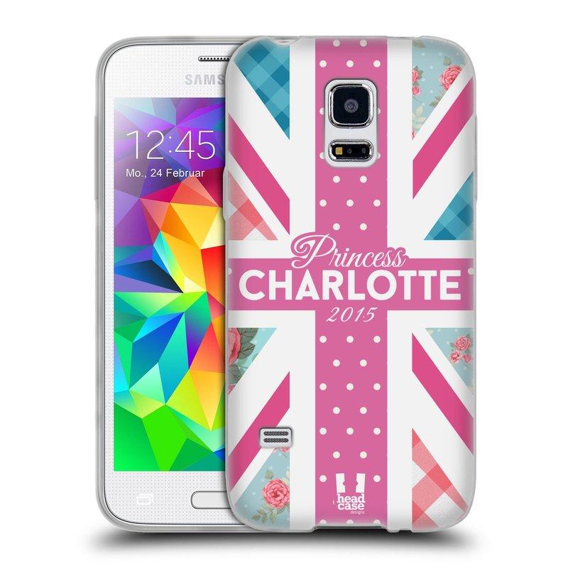 Silikonové pouzdro na mobil Samsung Galaxy S5 Mini HEAD CASE PRINCEZNIČKA CHARLOTTE (Silikonový kryt či obal na mobilní telefon Samsung Galaxy S5 Mini SM-G800F)