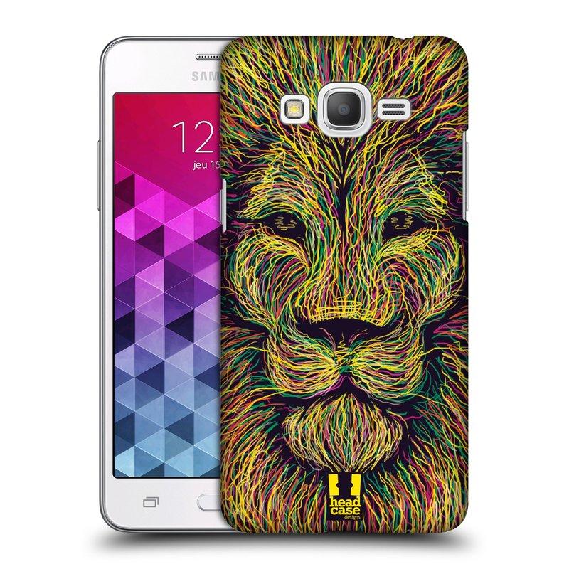 Plastové pouzdro na mobil Samsung Galaxy Grand Prime HEAD CASE SCRIBBLE LEV (Kryt či obal na mobilní telefon Samsung Galaxy Grand Prime SM-G530)