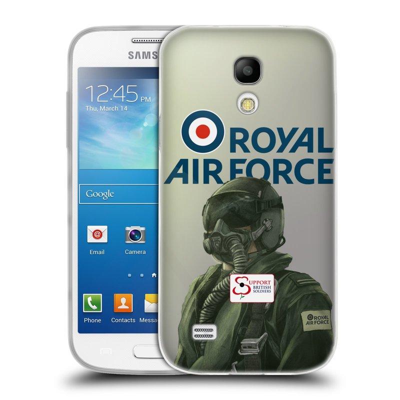 Silikonové pouzdro na mobil Samsung Galaxy S4 Mini VE HEAD CASE Royal Air Force (Silikonový kryt či obal na mobilní telefon Samsung Galaxy S4 Mini VE GT-i9195i (nepasuje na verzi Black Edition))