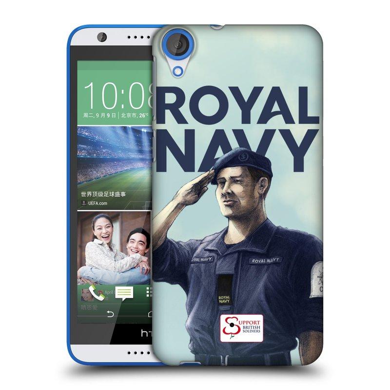 Plastové pouzdro na mobil HTC Desire 820 HEAD CASE ROYAL NAVY (Kryt či obal na mobilní telefon HTC Desire 820)