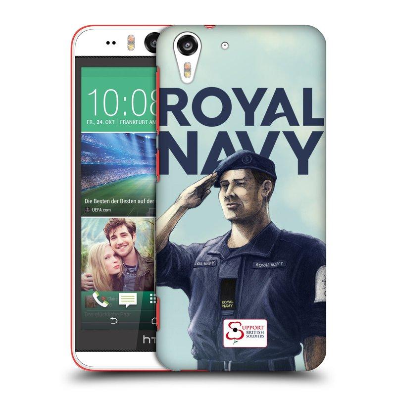 Plastové pouzdro na mobil HTC Desire EYE HEAD CASE ROYAL NAVY (Kryt či obal na mobilní telefon HTC Desire EYE)