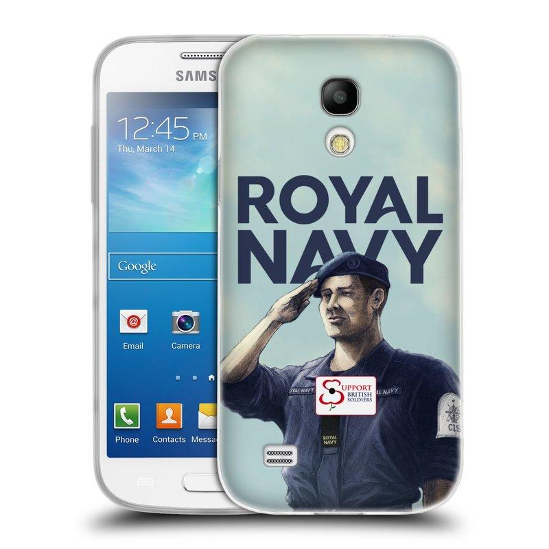 Silikonové pouzdro na mobil Samsung Galaxy S4 Mini VE HEAD CASE ROYAL NAVY (Silikonový kryt či obal na mobilní telefon Samsung Galaxy S4 Mini VE GT-i9195i (nepasuje na verzi Black Edition))