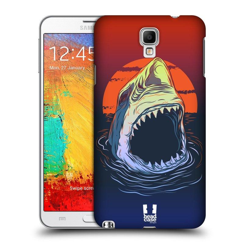 Plastové pouzdro na mobil Samsung Galaxy Note 3 Neo HEAD CASE HLADOVÝ ŽRALOK (Kryt či obal na mobilní telefon Samsung Galaxy Note 3 Neo SM-N7505)