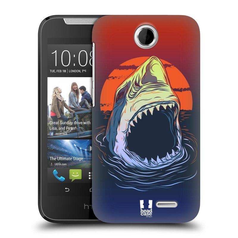 Plastové pouzdro na mobil HTC Desire 310 HEAD CASE HLADOVÝ ŽRALOK (Kryt či obal na mobilní telefon HTC Desire 310)