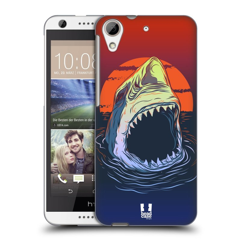 Plastové pouzdro na mobil HTC Desire 626 / 626G HEAD CASE HLADOVÝ ŽRALOK (Kryt či obal na mobilní telefon HTC Desire 626G Dual SIM a HTC Desire 626)