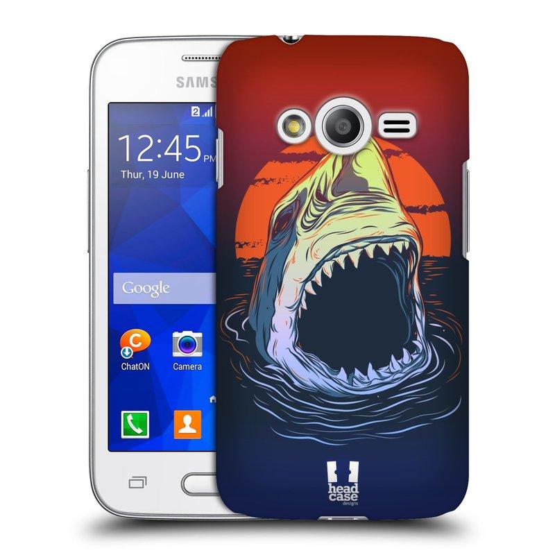 Plastové pouzdro na mobil Samsung Galaxy Trend 2 Lite HEAD CASE HLADOVÝ ŽRALOK (Kryt či obal na mobilní telefon Samsung Galaxy Trend 2 Lite SM-G318)