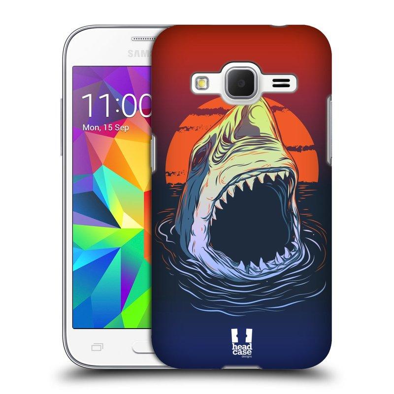 Plastové pouzdro na mobil Samsung Galaxy Core Prime LTE HEAD CASE HLADOVÝ ŽRALOK (Kryt či obal na mobilní telefon Samsung Galaxy Core Prime LTE SM-G360)
