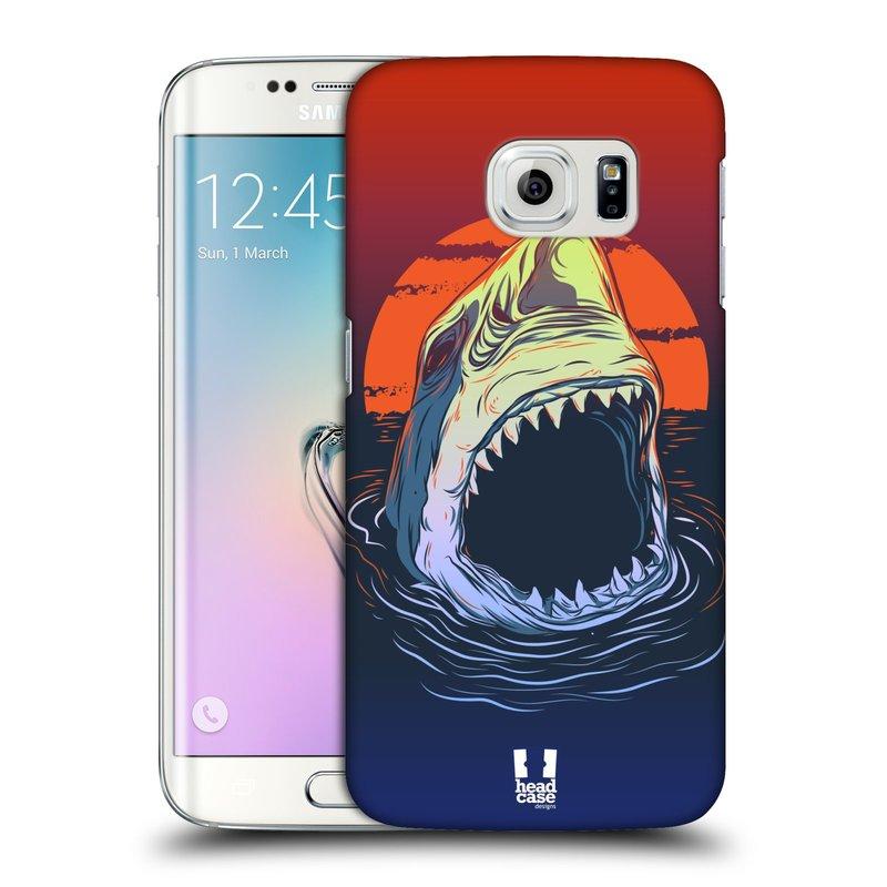 Plastové pouzdro na mobil Samsung Galaxy S6 Edge HEAD CASE HLADOVÝ ŽRALOK (Kryt či obal na mobilní telefon Samsung Galaxy S6 Edge SM-G925F)
