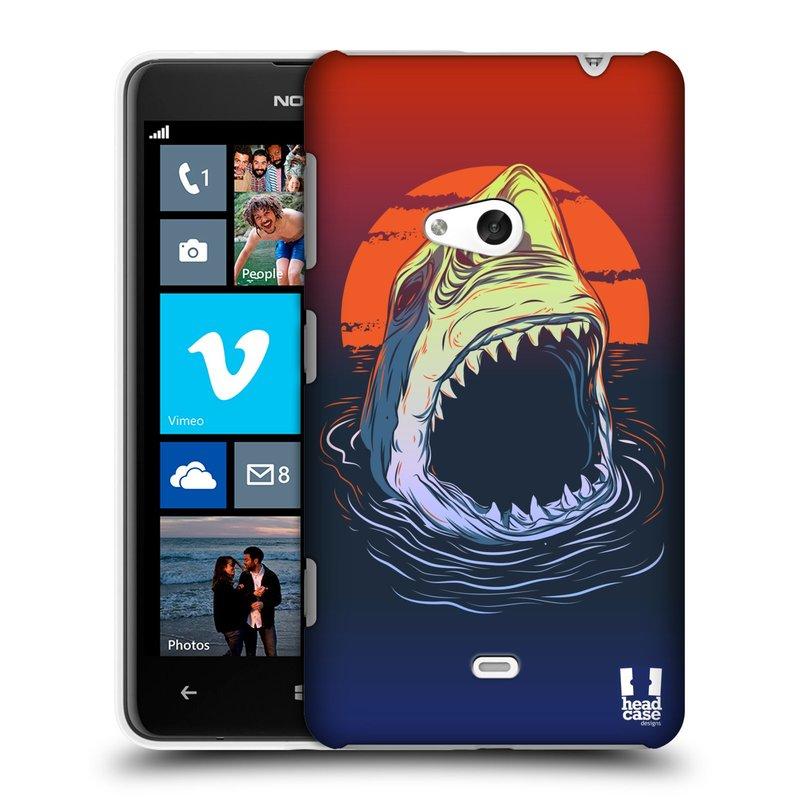 Plastové pouzdro na mobil Nokia Lumia 625 HEAD CASE HLADOVÝ ŽRALOK (Kryt či obal na mobilní telefon Nokia Lumia 625)