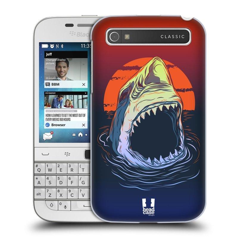 Plastové pouzdro na mobil Blackberry Classic HEAD CASE HLADOVÝ ŽRALOK (Kryt či obal na mobilní telefon Blackberry Classic)