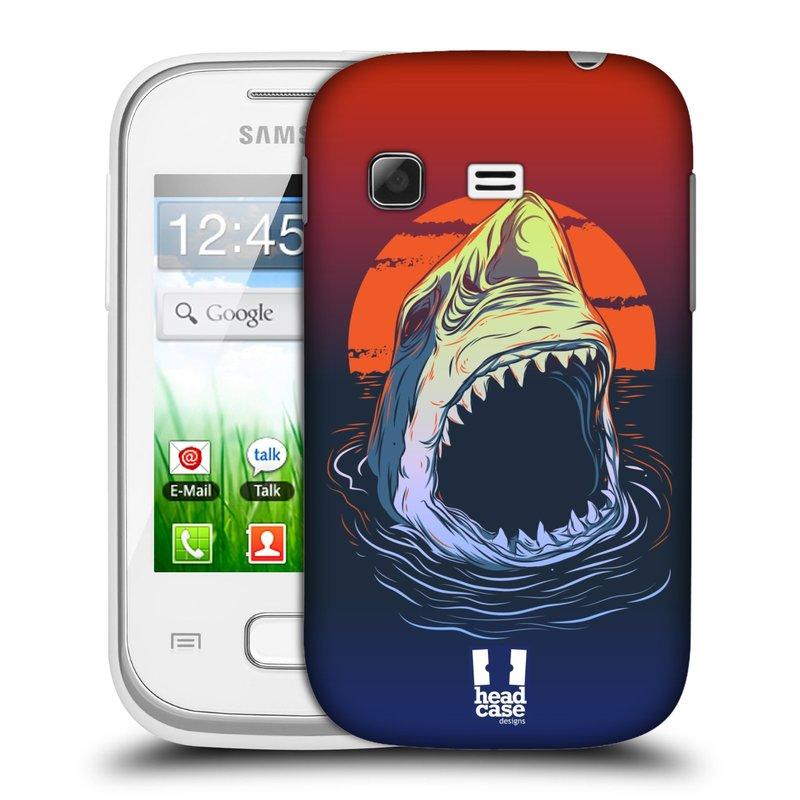 Plastové pouzdro na mobil Samsung Galaxy Pocket HEAD CASE HLADOVÝ ŽRALOK (Kryt či obal na mobilní telefon Samsung Galaxy Pocket GT-S5300)