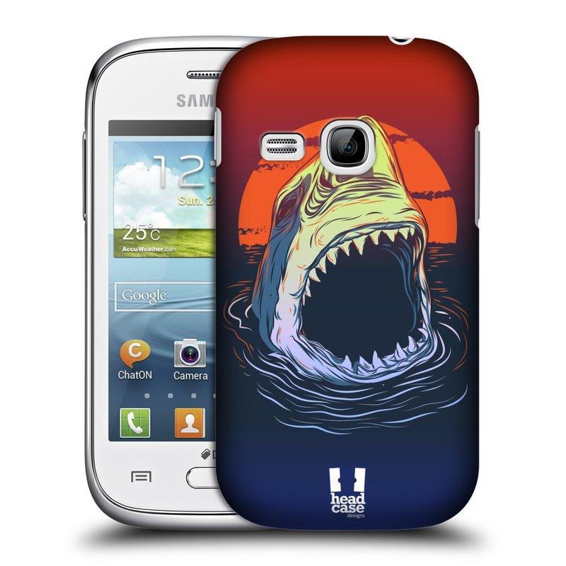 Plastové pouzdro na mobil Samsung Galaxy Young HEAD CASE HLADOVÝ ŽRALOK (Kryt či obal na mobilní telefon Samsung Galaxy Young GT-S6310)