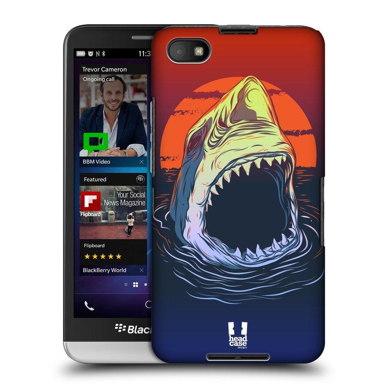 Plastové pouzdro na mobil Blackberry Z30 HEAD CASE HLADOVÝ ŽRALOK (Kryt či obal na mobilní telefon Blackberry Z30)