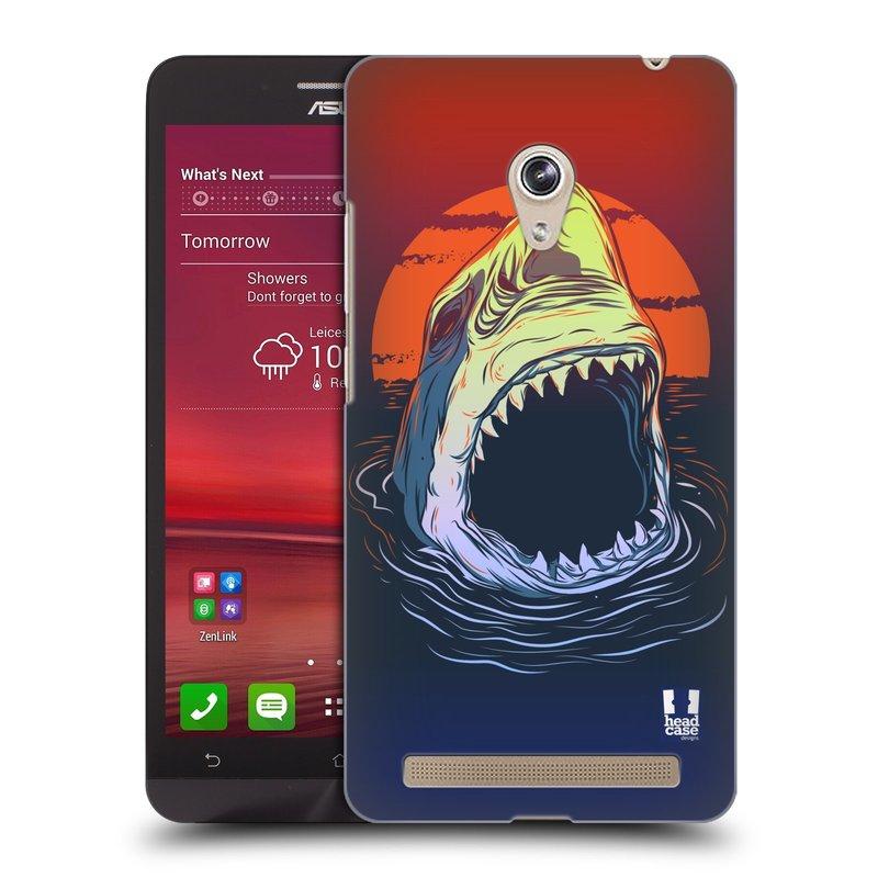 Plastové pouzdro na mobil Asus Zenfone 6 HEAD CASE HLADOVÝ ŽRALOK (Kryt či obal na mobilní telefon Asus Zenfone 6 A600CG / A601CG)