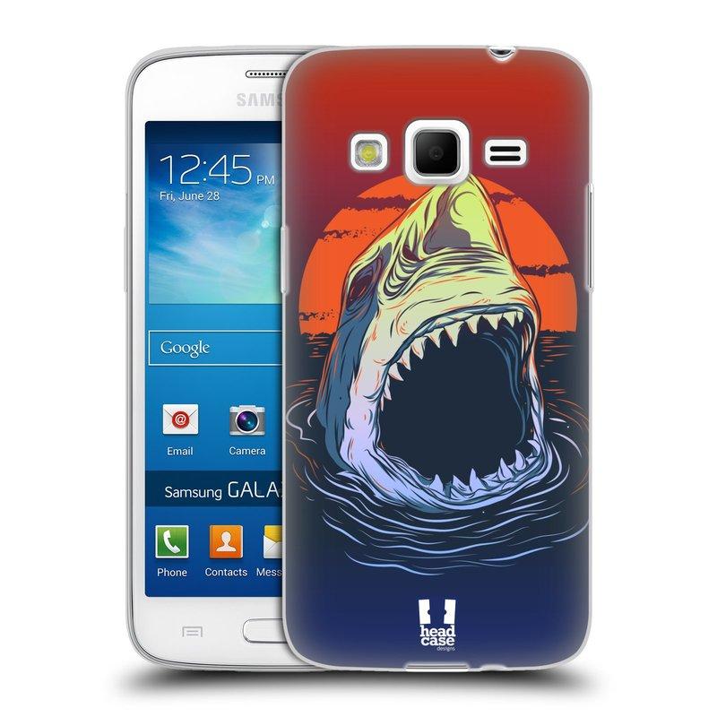 Silikonové pouzdro na mobil Samsung Galaxy Express 2 HEAD CASE HLADOVÝ ŽRALOK (Silikonový kryt či obal na mobilní telefon Samsung Galaxy Express 2 SM-G3815)