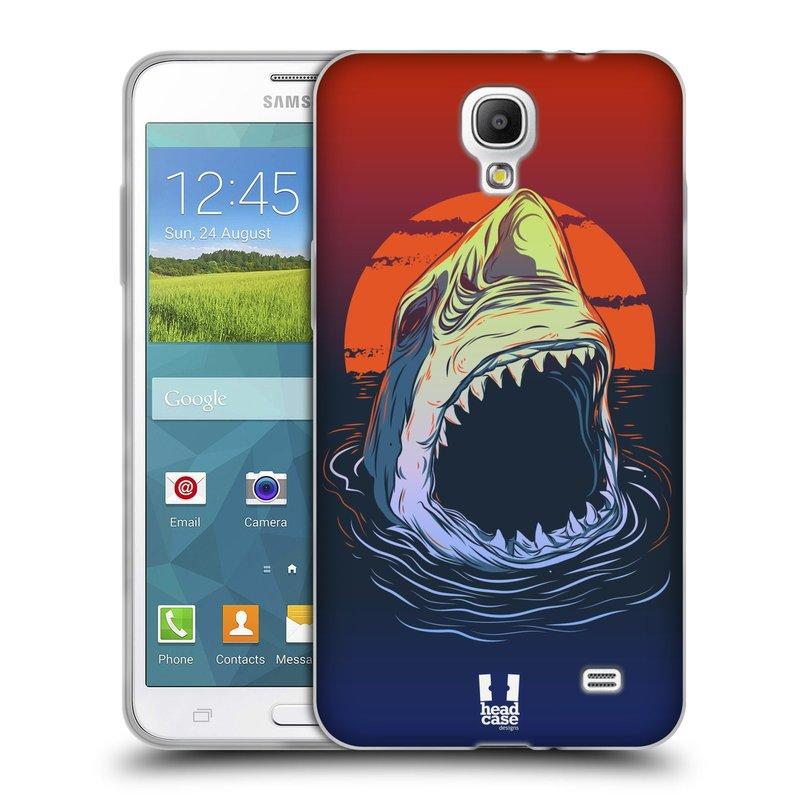 Silikonové pouzdro na mobil Samsung Galaxy Grand Mega 2 HEAD CASE HLADOVÝ ŽRALOK (Silikonový kryt či obal na mobilní telefon Samsung Galaxy Grand Mega 2 SM-G750)