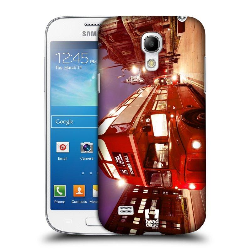 Plastové pouzdro na mobil Samsung Galaxy S4 Mini HEAD CASE DOUBLE DECKER (Kryt či obal na mobilní telefon Samsung Galaxy S4 Mini GT-i9195 / i9190 (nepasuje na verzi Black Edition))